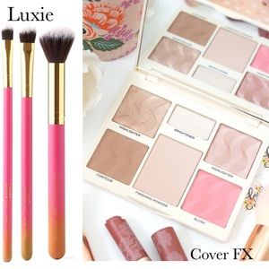 Cover FX Perfector Face Palette & Luxie Brush Set